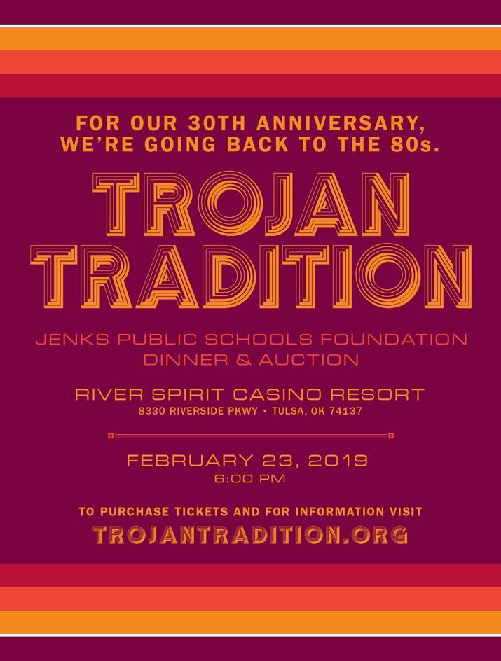Jenks Public Schools Foundation Dinner and Auction 2019