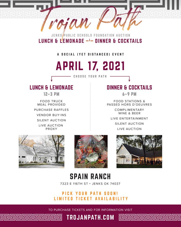 Jenks Public Schools Foundation 2021 Dinner and Auction