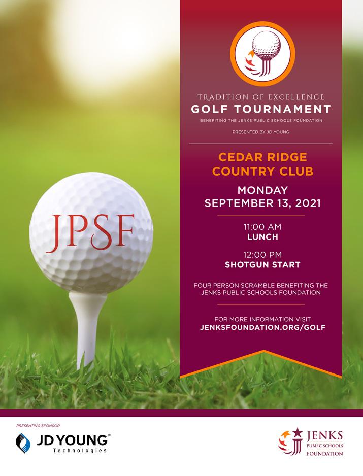 Jenks Public Schools Foundation Golf Tournament 2021